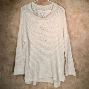 Lou & Grey Long Sleeve Cowl-neck Knit Sweater